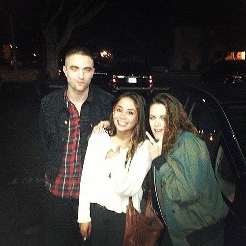 19/03/13 - Une autre photo avec une fan & avec Robert!