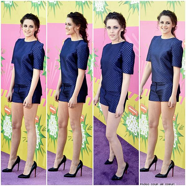 23/03/13 - Kid's Choice Awards 2013.