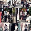 10/04/13 - Robsten allant dans un restaurant à suhi Los Angeles.