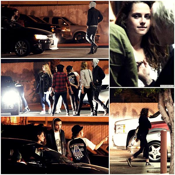09/04/13 - Kristen avec Robert & des amis à Los Angeles.