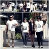 CANDID | 29/04/13 | Kristen et des amis à Woodland Hills à Los Angeles.