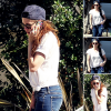 CANDID | 03/05/13 | Kristen a eu un léger accident de voiture à Los Angeles.