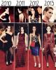 SONDAGE | Evolution de Kristen Stewart au MET Gala.
