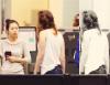 CANDID | 04.07.13 | Kristen à l'aéroport de Paris puis de Los Angeles.