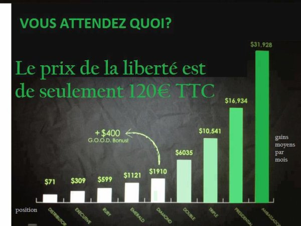Salaires moyens chez It Works Company :)