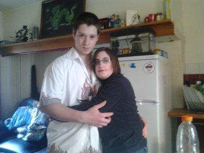 mon mari et moi dans notre nouvelle maison