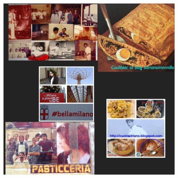 Paella valenciana alla moda brasile_ Cannoli a la Siciliana _ Turròn _   MATELOTE  d'anguilla  alle  prugne  [ matelote  d'anguille  aux  pruneaux ]