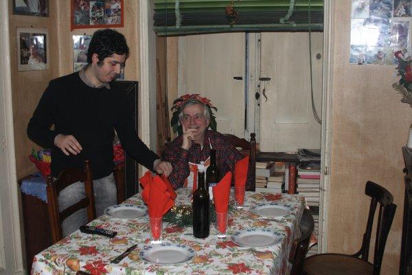 Gattò di  Santa Chiara _Fettuccine alla papalina ( ROMA ) _ Bharta  ,melanzana affumicata + Tiramisù   alla   ricotta + Duck à Orange + Beef chili  +Poulet cordon bleu au four