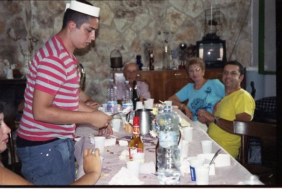 dulce de lèche_Gnocchi alla bava _Chupe de camarones_Cordero a la royale_Nodino al cartoccio_Branzino al cartoccio_Doc's Jack Daniels marinade _ Torta negra_ fegato alla veneta _Sauteed ginger beef and gabbage _ Babà  napoletano_Fagiano glassato marie-Jeanne_ Papas en adobillo _ Lapin a la moutarde _Alici in tortiera _Soupe au moules +Fegato alla milanese + Sbrofadej ( piatto milanese )