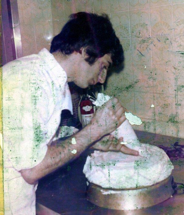 Ribollita TOSCANA _Torta Amarene_ Roulè d'agneau aux èpinards_ Appetizer napoleon with smoked salmon_ Risotto Adry88 _ Lasagne _ Calamares rellenos_ Spaghetti with bottarga  _Spaghetti con capesante  _Tarte à la myrtille