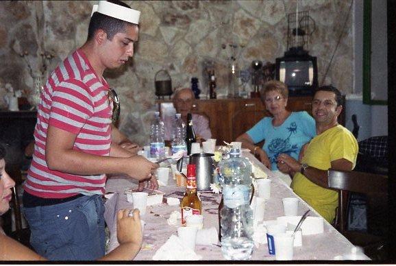 Tortelli di zucca _Salmon mousse _Agnello cacio e uova _Panna cotta _risotto al gorgonzola _Carpetbag_Crèpes au chèvre et Crevettes_Nouilles all'Adriano_Brittany fish stew _Risotto all'invidia e gamberi_Caponata _Carpa alla birra _Penne al radicchio_Torta alla pignolata _