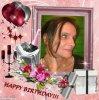 joyeux anniversaire a mon amie magnolia-blanc