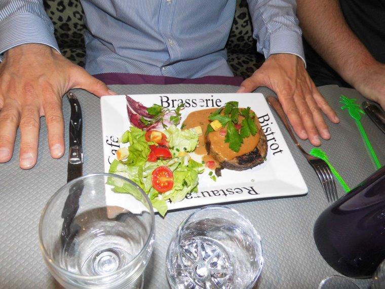 repas au resto pour l anniversaire de mon beau frere