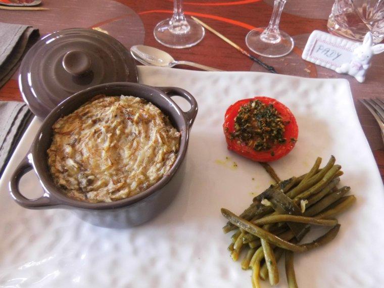 repas de fetes des peres chez ma fille olivia