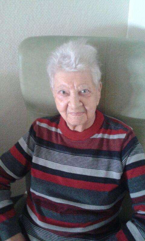 voila belle maman aujourd hui 95 ans