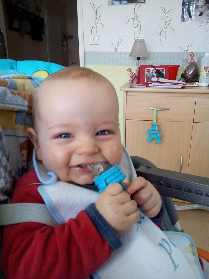 mon petit fils tony 9 mois aujourd hui