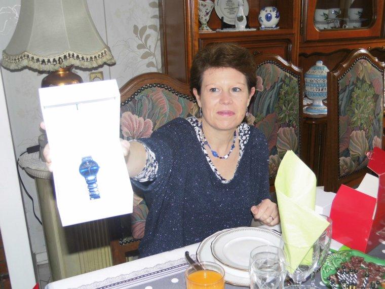 voila le repas de l anniversaire a notre fille olivia