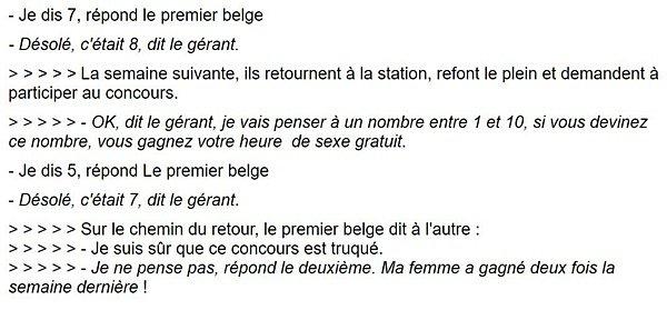 un belge