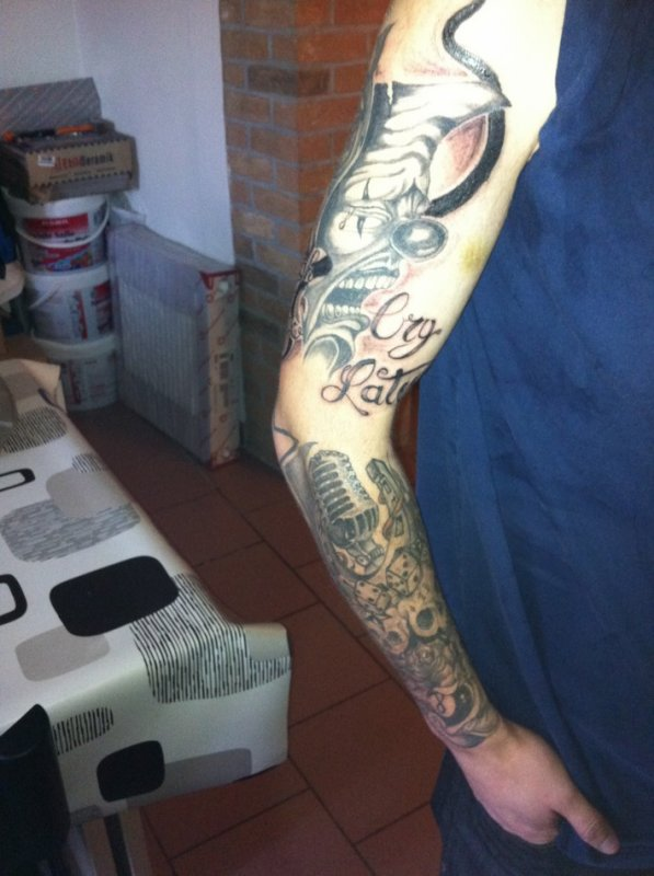 tattoo jerome 3eme passage bisceps