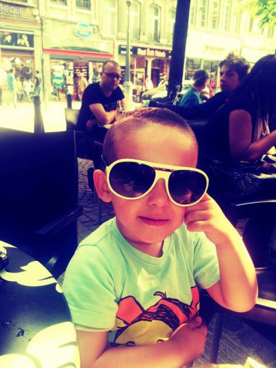 Mon fils :)