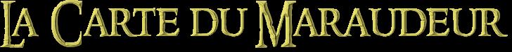 Présentation : Carte du Maraudeur