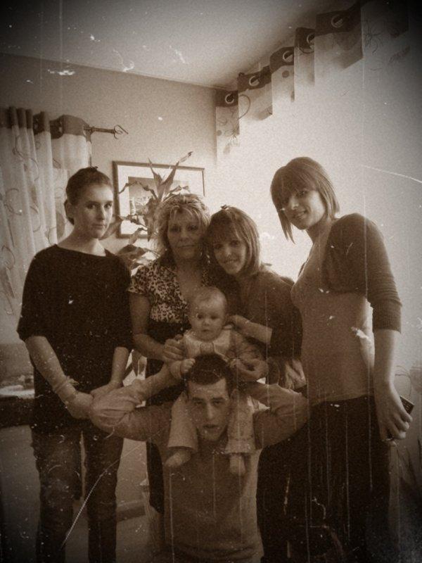 Une famille on en a qu'une ♥.