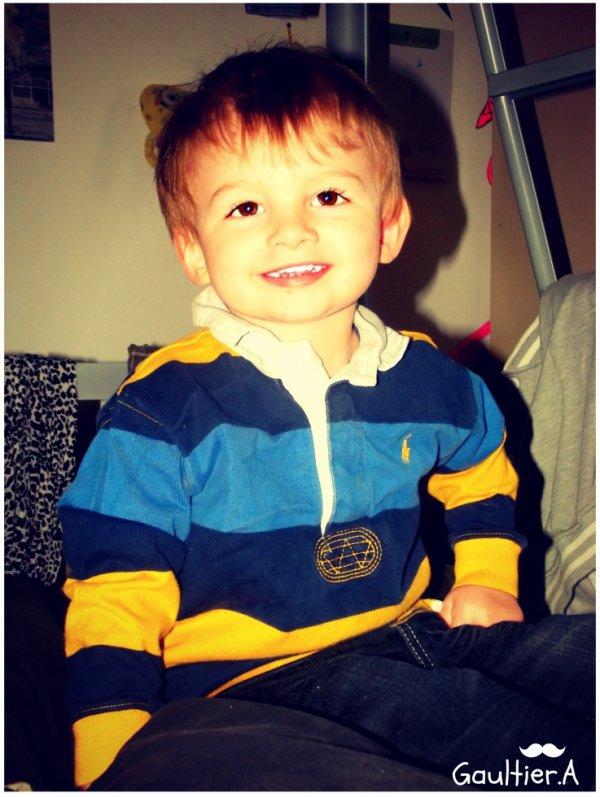 Morgan ; le plus beau des petit cousin . <3