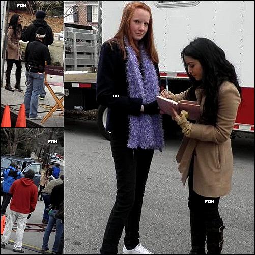 . Après Fergie ou encore Britney Spears, Candie's a choisi une nouvelle égérie pour 2011 : Vanessa Hudgens ! Le photoshoot de la première campagne a déjà été réalisé . (+) 29 janvier 2011 :  Vanessa a été repéré sur son nouveau film, Journey 2: L'Île mystérieuse , en Caroline du Nord . Certains fans ont pris des photos d'elle sur le plateau et lui a demandé un autographe.  .