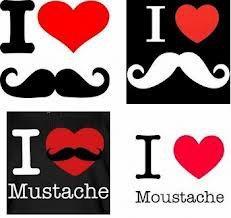 la moustache <3