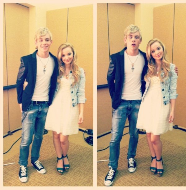 ross lynch et dove cameron 1er blog source cr e en france sur la belle dove. Black Bedroom Furniture Sets. Home Design Ideas