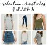 Sélection d'articles Bershka
