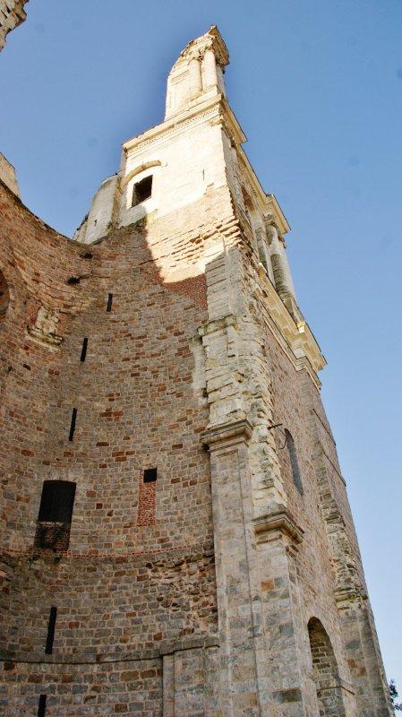 Mont-Saint-Eloi ( 62144 ) Ruines de L'Abbaye