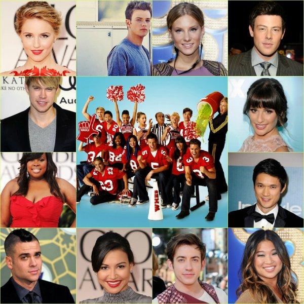 Les Anniversaire Des Acteur de Glee
