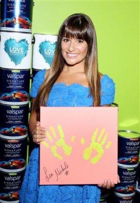 Lea Michele Valspars 20juillet2012