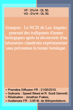 (c) Addict-NCIS-Los-Angeles.  Saison 1 : Épisodes 13, 14, 15 & 16 !