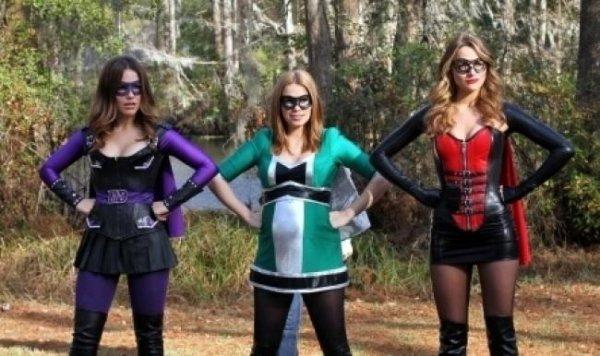 Sortie Super Héros Haley Brooke et Quinn