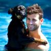 Chris Salvatore + son chien
