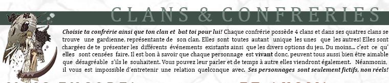 CLANS & CONFRERIES