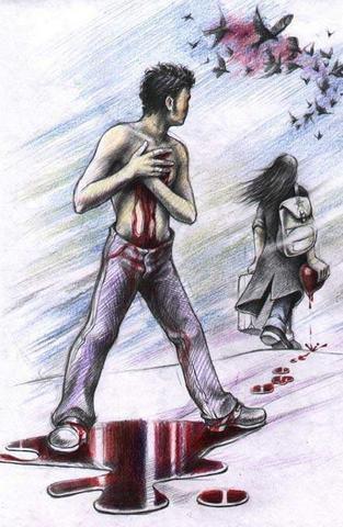 قلوب مجروحه