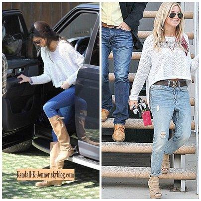 Qui porte mieux ce haut ? Kendall ou Ashley Tisdale