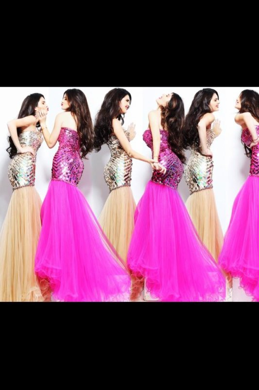 PHOTOSHOOT. Kendall & Kylie pour Sherri Hill. J'aime beaucoup