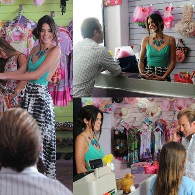 Un aperçu de l'épisode que Kendall a tourné pour Hawaii 5-0. Apparement Kendall joue le rôle d'une vendeuse.