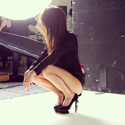 Kendall à un photoshoot fait par Russel James Pour le célèbre magazine Vogue Australia.