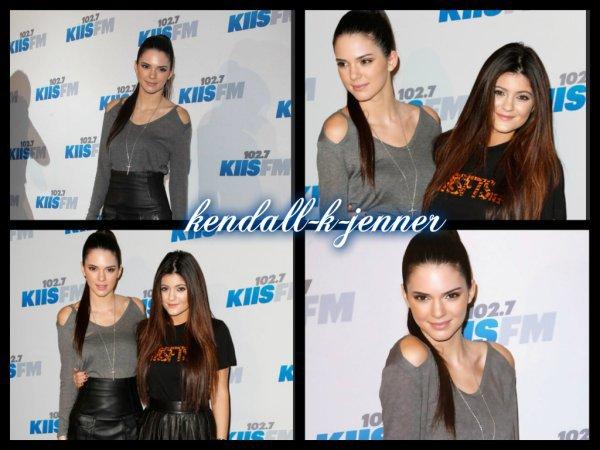 3 décembre 2012: Kendall et sa soeur au Jingle Ball 2012 + nouvelles photos personnelles