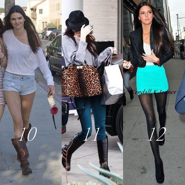 SONDAGE: Quelle est ta tenue préférée de tous les jours que Kendall à porter?