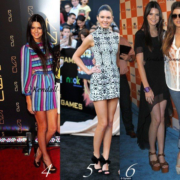 SONDAGE: Quelle tenue de soirée préfere tu de Kendall en 2012?