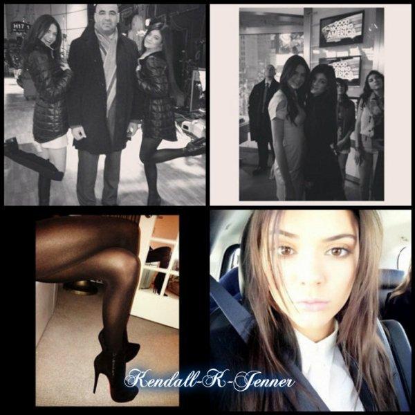 Kendall sortant de son Hotel et dans les coulisse d'une émission  le 8 Février + Photo personelle.