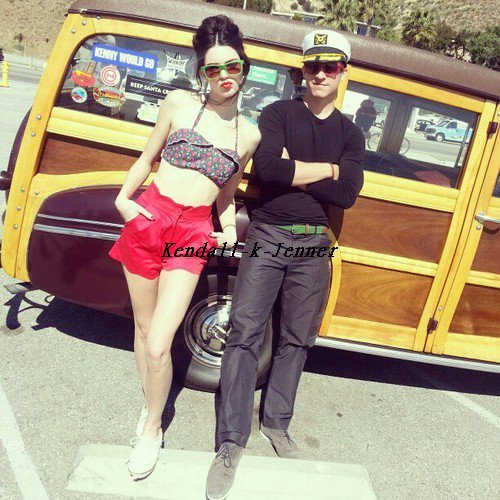 Kendall a posté quelque photo provenant d'un shooting !