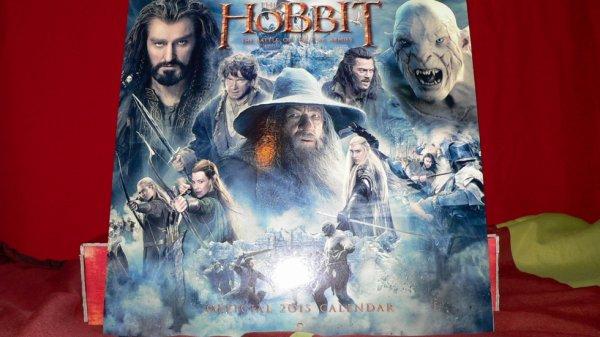 calendrier Le Hobbit