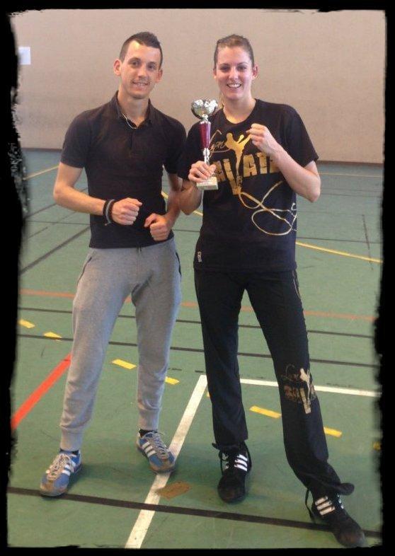 Félicitations à Laura pour sa victoire au Challenge Secteur - 24/05/14